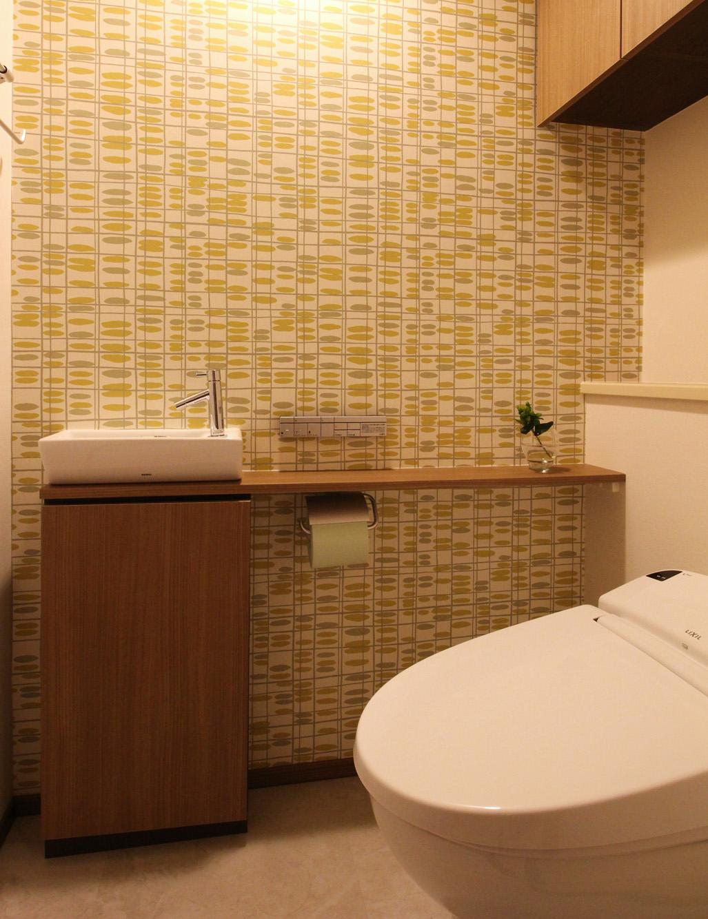 コラム09 トイレを輸入壁紙で異空間にしよう インテリア