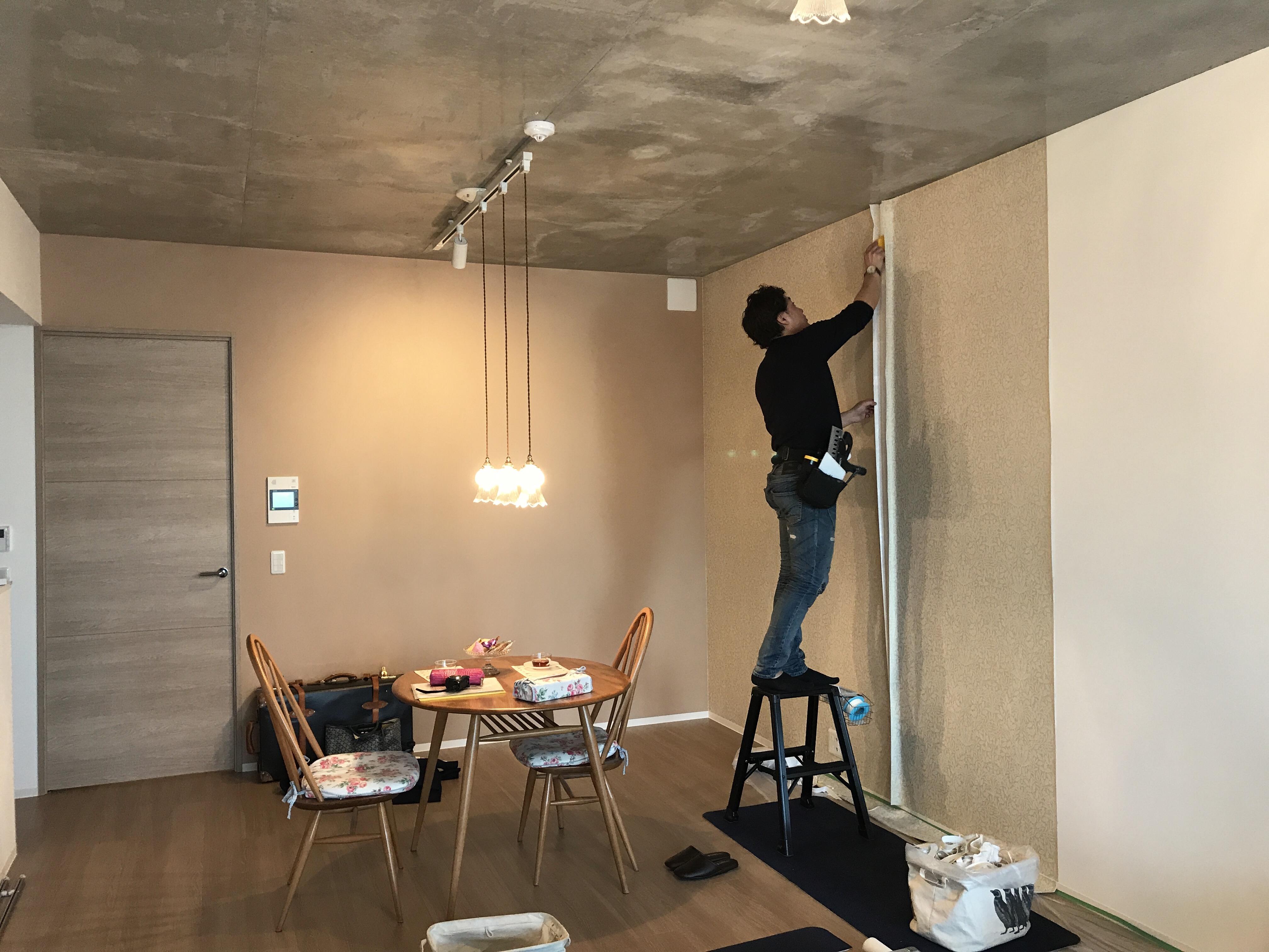 賃貸物件でもok はがせる壁紙施工サービスがおすすめ インテリア